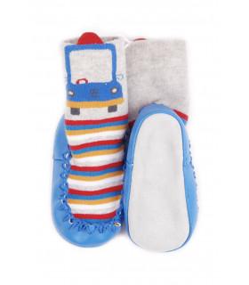 Pantofi de Casa tip Sosete pentru Baieti