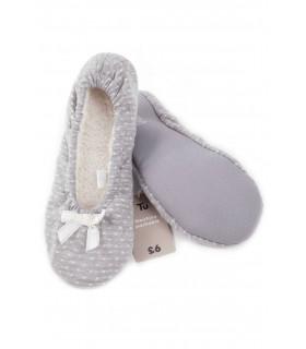 Pantofi de Casa Dama cu Bulinute