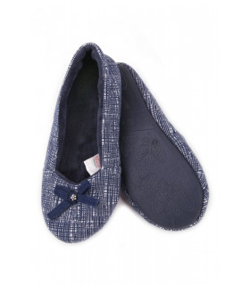 Pantofi de Casa Dama Navy