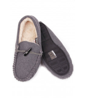 Pantofi de Casa Gri 5057468018