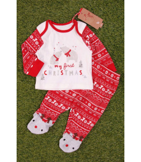 Pijama Bebe My First Christmas