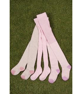 Set Ciorapi Tricotati Roz, Mov, Gri Fete