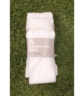 Set Ciorapi Tricotati White