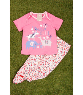Pijama Hello Cutie pentru Fete