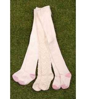 Set Ciorapi Albi&Crem pentru Fete
