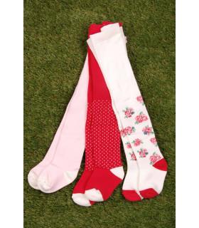 Set Ciorapi Tricotati Pink Fete