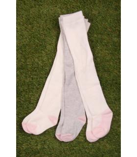 Set Ciorapi Tricotati Fete White&Grey