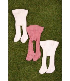 Set Ciorapi Tricotati Pink&White