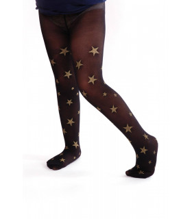 Ciorapi Pantaloni Copii cu Stelute