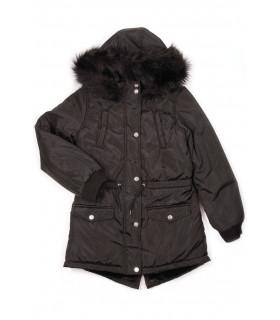 Jacheta de Iarna Neagra pentru Fete
