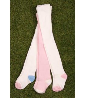 Set Ciorapi Tricotati White & Pink