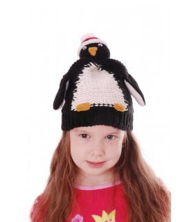 Caciulita Tricotata Pinguini