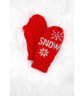 Manusi cu 1 Deget Snow Copii