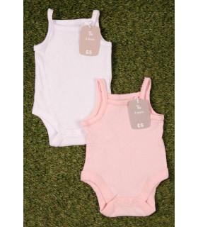 Set Body tip Maieu White & Pink
