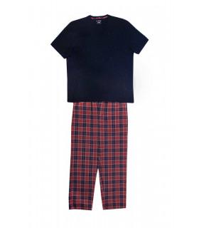 Pijama Red and Blue