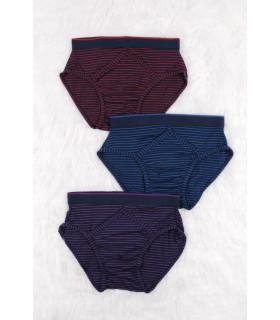 Set Chiloti Barbati Color Stripy 3 Bucati