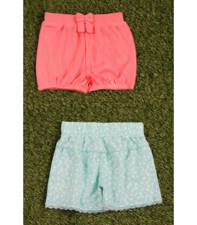 Set Pantaloni Scurti pentru Fete