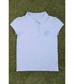 Tricou Tip Polo Fetite Blue