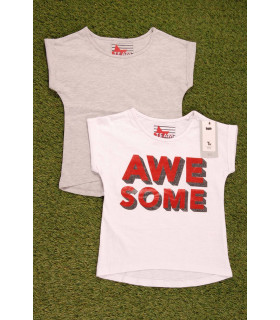 Set tricou Awesome 2 Piese