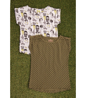 Set Tricou 2 Piese Cool Girl