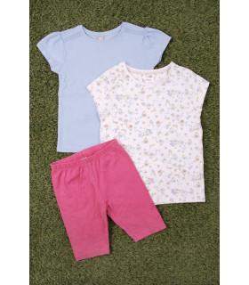 Compleu Fetite Blue & Pink Colors