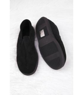 Pantofi de Casa Tip Mocasini Black