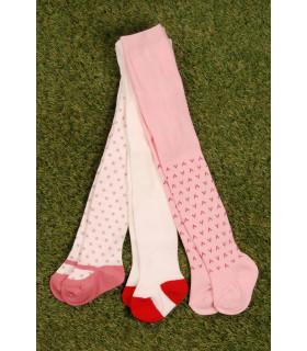 Set Ciorapi Pantaloni cu Imprimeu
