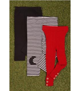 Set Colanti Black and Red
