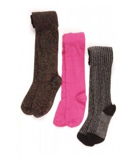 Set Ciorapi Tricotati Black and Pink