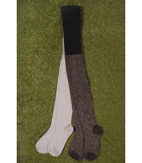 Set Ciorapi Tricotati Black & Silver