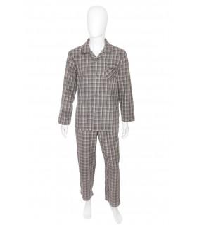 Pijama Gri in Carouri pentru Barbati