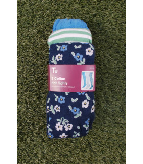 Set Ciorapi Pantaloni Tricotati Fete cu Imprimeu