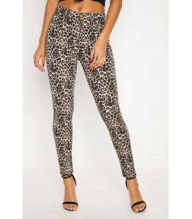 Pantaloni PLT Animal Print