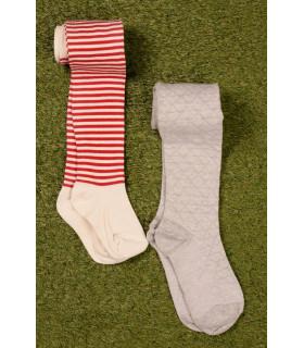 Set Ciorapi Tricotati cu Dungi
