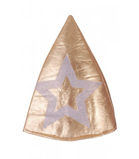 Palarie Conica Gold & Star