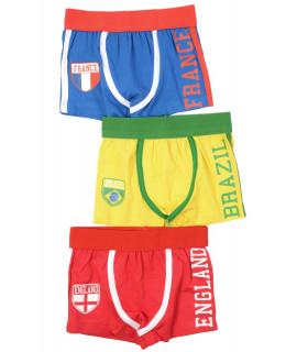 Set Boxeri Trei Culori