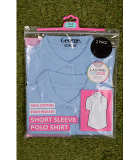 Set Tricou George School Blue Fete
