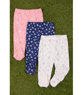 Set Pantaloni de Pijama 3 Piese