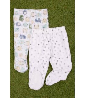 Set Pantaloni de Pijama cu Stelute