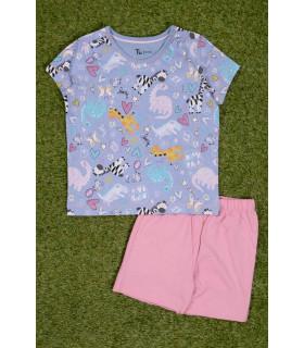 Pijama cu Animalute pentru Fete