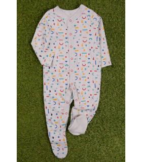 Salopeta Multicolor pentru Bebelusi
