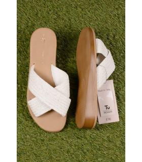 Papuci White