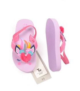 Flip Flop cu Unicorn