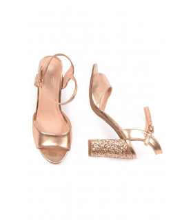 Sandale Elegante Rose Gold Spot On