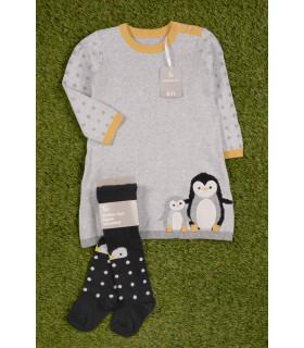Compleu de Iarna Little Pinguin