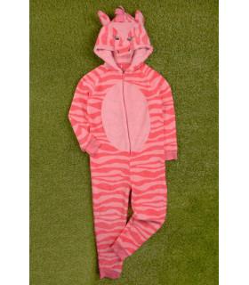 Pijama tip Salopeta Zebra