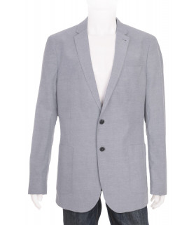 Sacou Light Blue Slim Fit