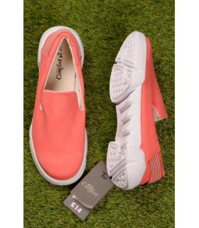Pantofi tip Slip On Coral