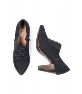 Pantofi Navy cu Siret