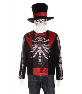 Costum Halloween Schelet pentru Barbati